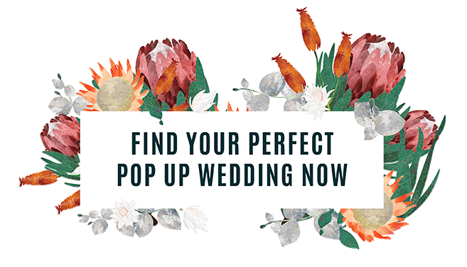 Pop Up Wedding South Africa A New Way To Have Your Perfect